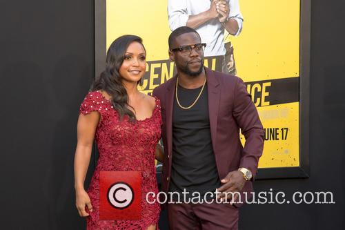 Danielle Nicolet and Kevin Hart 2