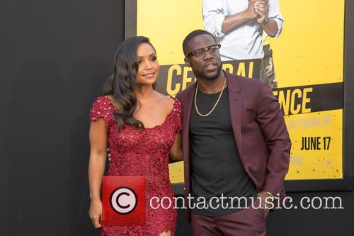 Danielle Nicolet and Kevin Hart 3