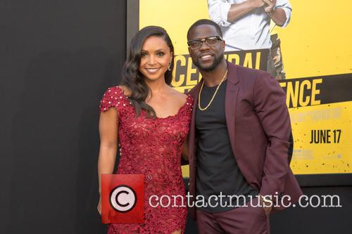 Danielle Nicolet and Kevin Hart 4