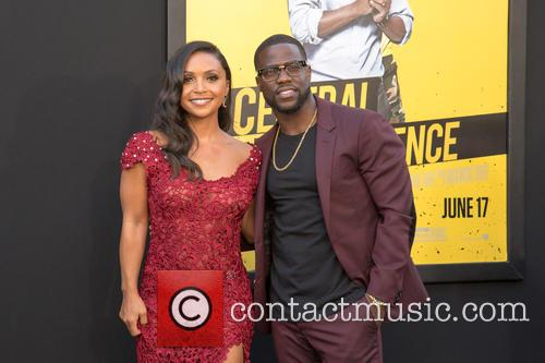 Danielle Nicolet and Kevin Hart 5