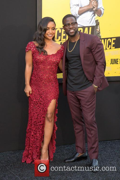 Danielle Nicolet and Kevin Hart 6