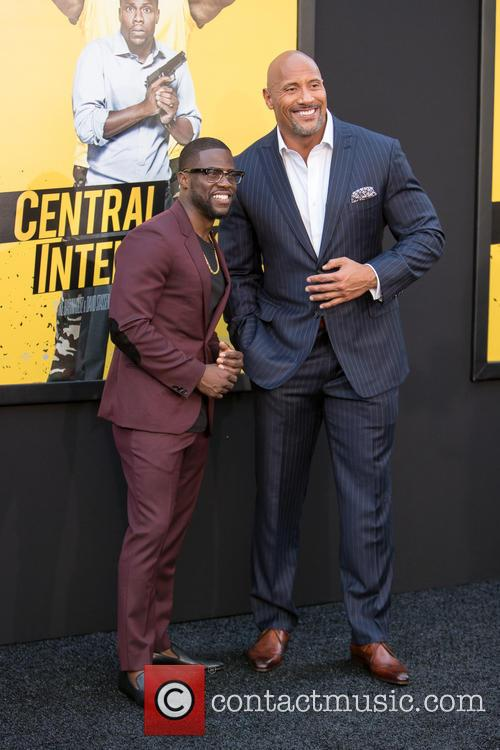 Kevin Hart and Dwayne Johnson 2