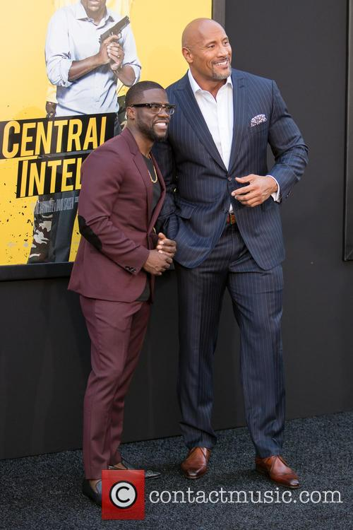 Kevin Hart and Dwayne Johnson 3