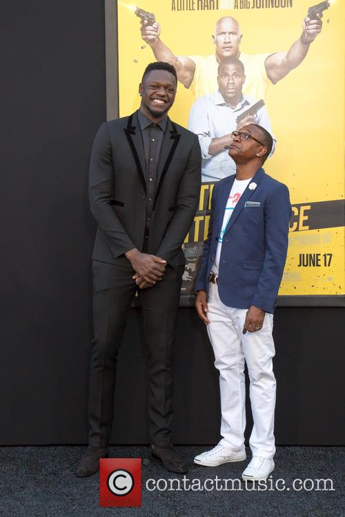 Julius Randle and Tommy Davidson 1