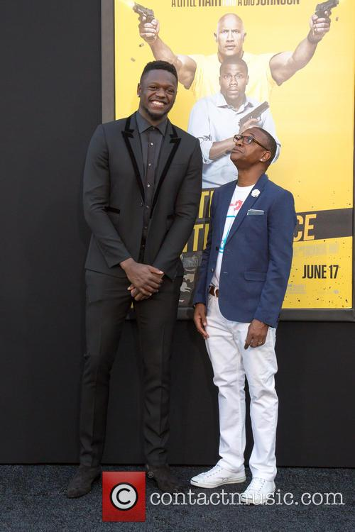 Julius Randle and Tommy Davidson 2