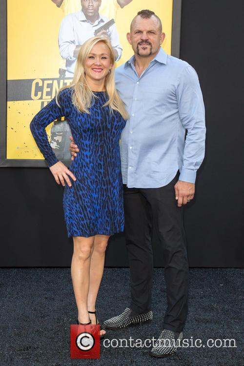 Mixed Martial Artist Chuck Liddell (r) and Wife Heidi Northcott (l) 1