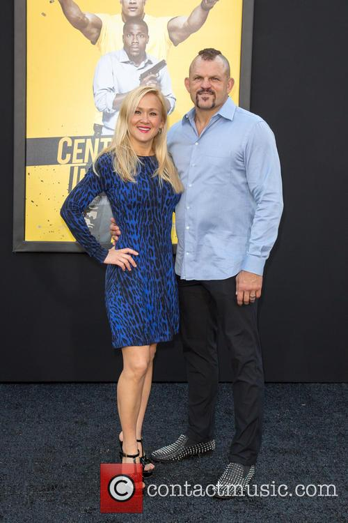 Mixed Martial Artist Chuck Liddell (r) and Wife Heidi Northcott (l) 3