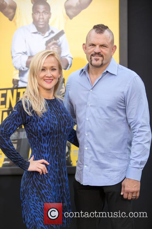 Mixed Martial Artist Chuck Liddell (r) and Wife Heidi Northcott (l) 5