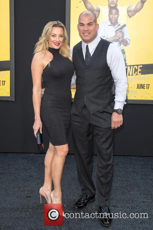 Tito Ortiz and (l-r) Amber Nichole Miller 2