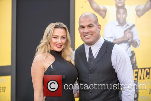 Tito Ortiz and (l-r) Amber Nichole Miller 3