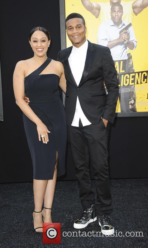 Tia Mowry and Cory Hardrict 1