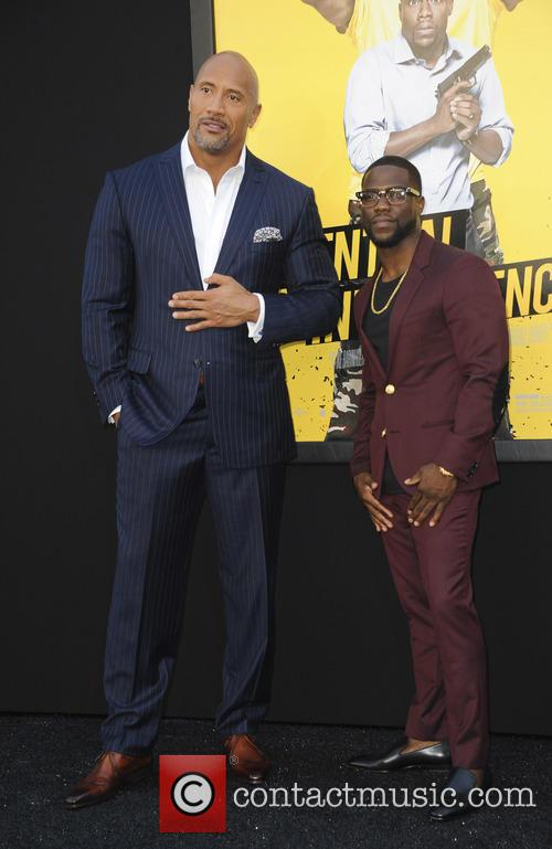 Dwayne Johnson and Kevin Hart 1