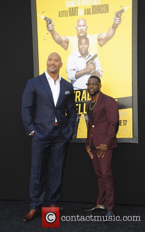 Dwayne Johnson and Kevin Hart 2