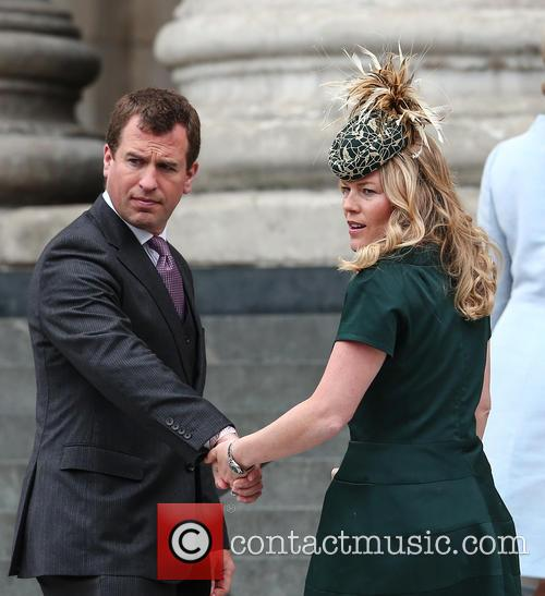 Peter Phillips and Autumn Phillips 2