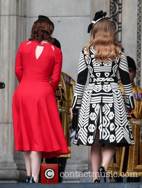 Princess Eugenie and Princess Beatrice 2