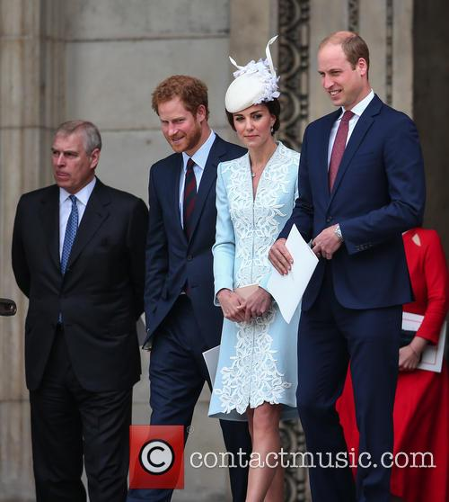 Prince Andrew, Prince Harry, Prince William, Duke Of Cambridge, Catherine Duchess Of Cambridge and Kate Middleton 3
