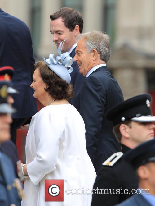 George Osborne and Tony Blair 2