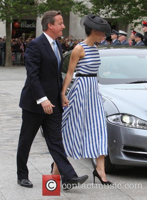 David Cameron and Samantha Cameron 3