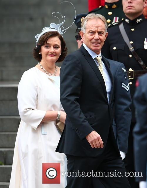 Cherie Blair and Tony Blair 2