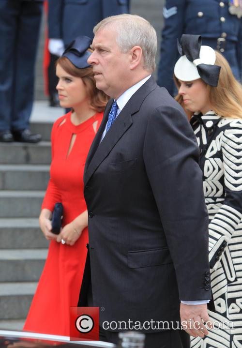 Princess Beatrice, Princess Eugenie Of York, Prince Andrew and Duke Of York 2