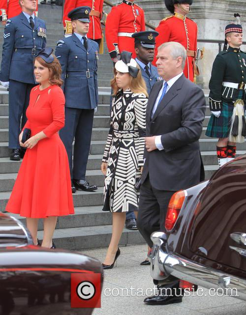 Princess Beatrice, Princess Eugenie Of York, Prince Andrew and Duke Of York 3