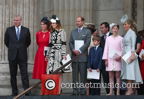 Princess Eugenie Of York, Prince Andrew, Duke Of York, Princess Beatrice Of York, Prince Edward, Earl Of Wessex, James, Viscount Severn, Lady Louise Windsor, Sophie and Countess Of Wessex