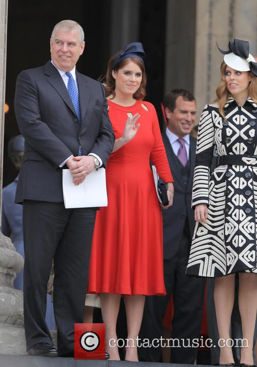 Princess Beatrice, Princess Eugenie Of York, Prince Andrew and Duke Of York 7