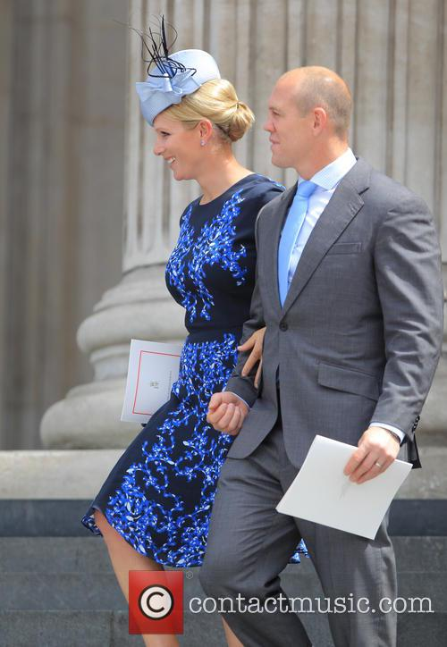 Mike Tindall and Zara Phillips 3