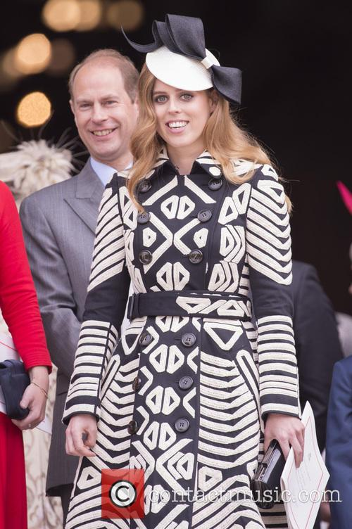 Prince Edward, Earl Of Wessex and Princess Beatrice 1