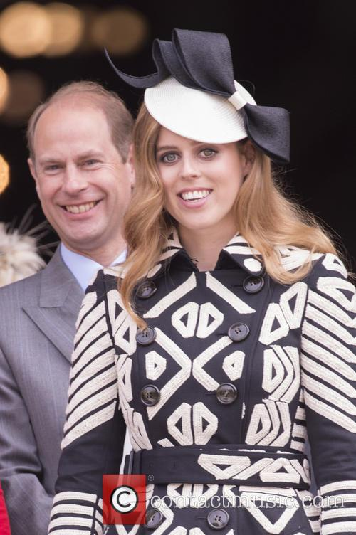 Prince Edward, Earl Of Wessex and Princess Beatrice 2