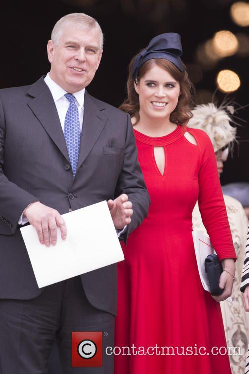 Prince Andrew and Princess Eugenie Of York 1