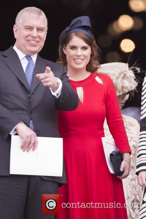 Prince Andrew and Princess Eugenie Of York 2