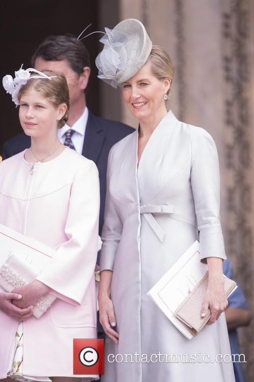 Lady Louise Windsor, Sophie and Countess Of Wessex 1