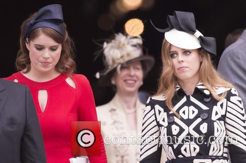 Princess Eugenie Of York and Princess Beatrice 1