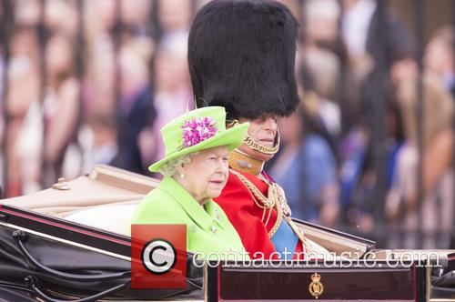 Trooping of the Colour, Buckingham Palace, London