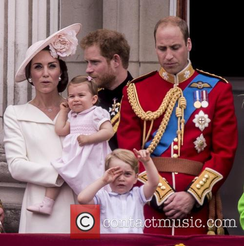 The Duchess Of Cambridge, The Duke Of Cambridge, Prince George and Princess Charlotte 3