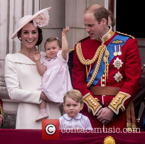 The Duchess Of Cambridge, The Duke Of Cambridge, Prince George and Princess Charlotte 5