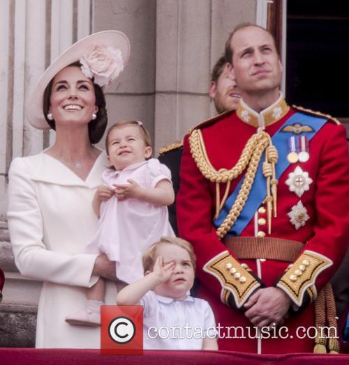 The Duchess Of Cambridge, Princess Charlotte, Prince George and Duke Of Edinburgh 9