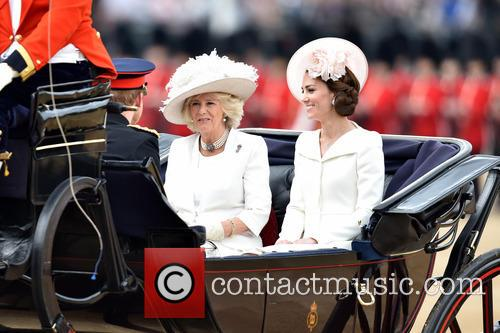 Camilla, Duchess Of Cornwall, Catherine, Duchess Of Cambridge, Kate Middleton and Catherine Middleton 1