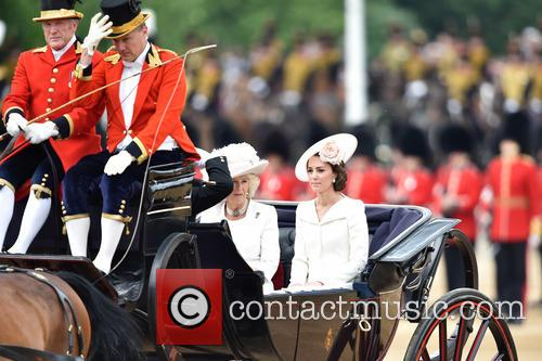 The Duchess Of Cambridge and The Duchess Of Cornwall 3