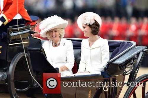 The Duchess Of Cambridge and The Duchess Of Cornwall 4