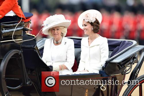The Duchess Of Cambridge and The Duchess Of Cornwall 5