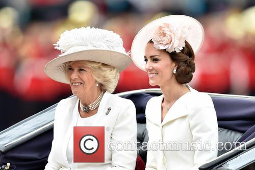 The Duchess Of Cambridge and The Duchess Of Cornwall 6