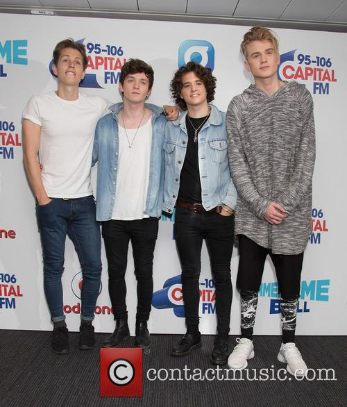 The Vamps, Tristan Evans, James Mcvey, Bradley Simpson and Connor Ball 1