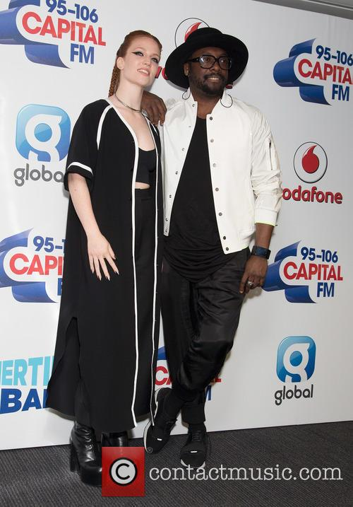 Jess Glynne and Will.i.am. 9