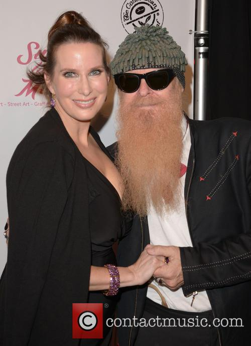 Megan Phillips and Billy Gibbons 2