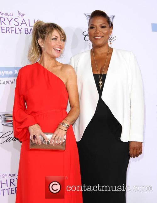 Rebecca Gayheart and Queen Latifah