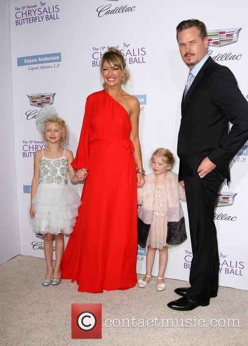 Rebecca Gayheart, Eric Dane, Daughters Billie Beatrice Dane and Georgia Dane 6