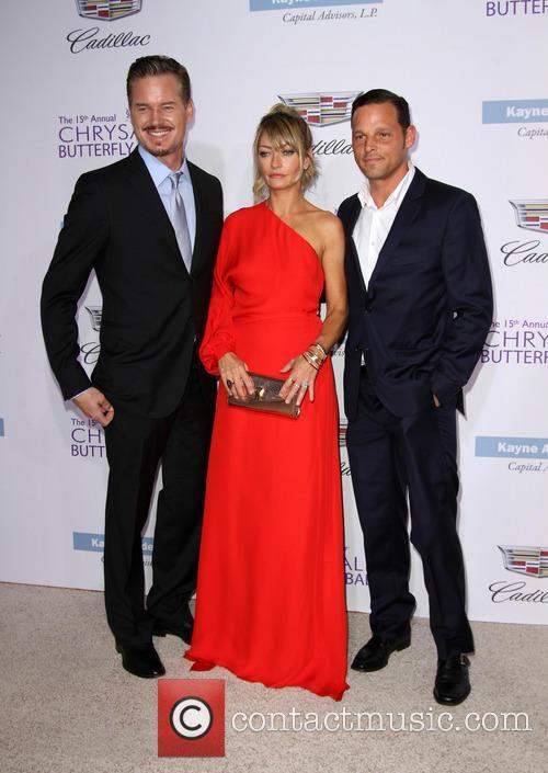 Eric Dane, Rebecca Gayheart and Justin Chambers 4