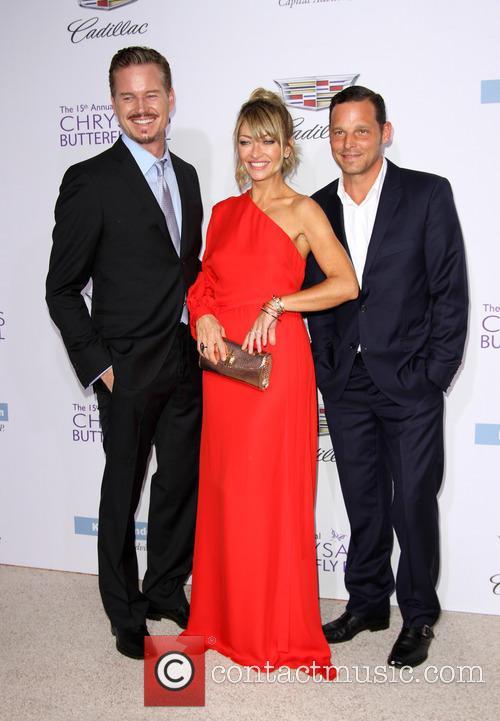 Eric Dane, Rebecca Gayheart and Justin Chambers 6